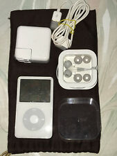 Apple iPod classic 5th Generation White (30 GB) #A1136 with Bundle Items