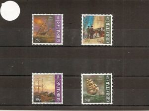 "Gibraltar 1997 SG793-6 4v NHM ""The Mary Celeste""-Tales and Legends-Europa"