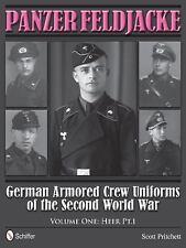 WW2 German Armored Crew Uniforms Panzer Feldjacke Volume 1 Reference Book