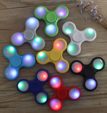 Lot  of 30-Packs  Led Light tri --spinner toy -Wholesale