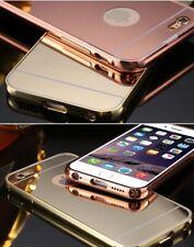 Para IPHONE 6 6S Plus Espejo Antichoque Híbrido Funda de Teléfono GB Basado