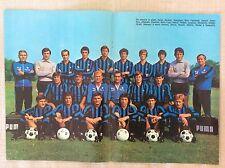 INTER INTERNAZIONALE FC CALCIO 1977 POSTER MANIFESTO SQUADRA FACCHETTI E ORIALI