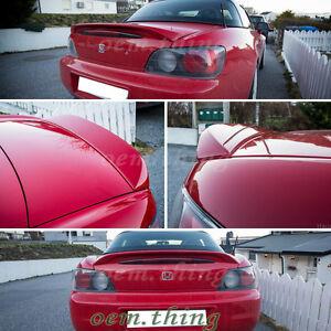 Painted Fit FOR Honda S2000 Roadster Convertible OE Trunk Spoiler AP1 AP2 2009