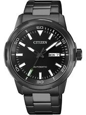 CITIZEN NH8375-82E,Men's automatic,stainless case and bracelet,day/date,50m WR