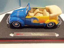 VINTAGE MAISTO SURF- BEACH VW CONVERTIBLE 1951 (CE EDITION) DIECAST 1:18- RARE