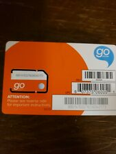 At&T Prepaid Go Phone Sim Card Unactivateed, Free shipping!