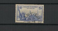 FRANCE 1939 exposition de New York timbre oblitéré /T1798
