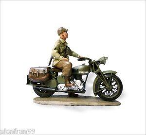 LEAD SOLDIERS MOTORCYCLE - Norton Four, Sergeant U.S. -SMI024
