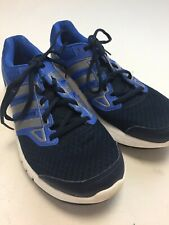 N449 Adidas ADIPRENE+ Men's Blue Silver Running Trainers Size 8 Good Cond