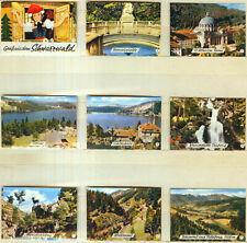 9er Streichholzetikettenserie 44b - Gruß aus dem Schwarzwald