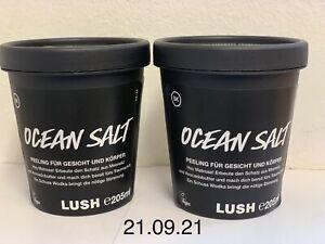 Lush Neu Vegan 2x Peeling Ocean Salt Gesichts-und Körper Peeling