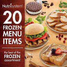 Nutrisystem 5 Day Diet Kit Weight Loss Frozen Food Meals Snacks Breakfast Lunch