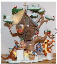 Danbury Mint Tiggers Christmas Party Light up ornament/centre piece/decoration