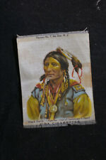 New listing Black hawk Apache - One of Geronimos Band - Zira Cigarette Silk