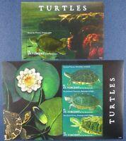 St. Vincent 2009 Schildkröten Turtles Meerestiere 7027-7029 Block 721 MNH