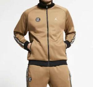 CLOT x Jordan Track Suit Medium Terracota Black Jacket & Pants Edison Chen NWT