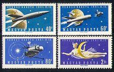 Hungary 1961 Space/Rocket/Venus/Planets 4v set (n30079)