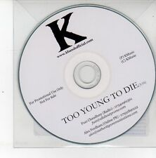 (DS532) K Band, Too Young To Die - DJ CD