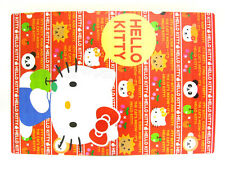 "Hello Kitty Plastic 20 Years Calendar Writing Pad Sheet - 181x252mm / 7.15x9.9"""