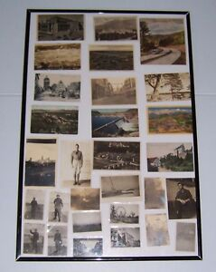 WWII  ERA U.S. MILITARY PHOTOS AND POSTCARDS LOT OF 29