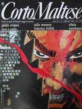 Corto Maltese 2 1990 con inserto WATCHMEN 8 di Alan Moore [G.142]