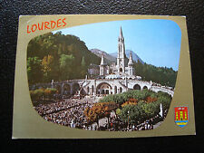 FRANCE - carte postale - lourdes (la basilique/l esplanade) 1978 (cy25) french
