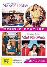Nancy Drew / What a Girl Wants NEW R4 DVD