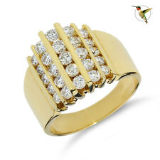 Ring 14k Yellow Gold #2932 1 00006000 .45ctw Diamond Cocktail Right Hand