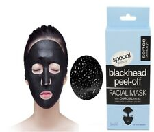 Blackhead Impurities  Removing Peel-Off Charcoal  Exfoliating Facial Black Mask