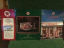 "Franklin Mint ""TheTexaco Service Station!"" Brochure!"
