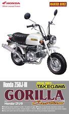 Honda Gorilla Custom Z50J III Takegawa Bike in 1:12 Model Kit Aoshima 045572