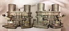 Solex 35PII Carburettors Lancia