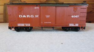 LGB 4067  Denver & Rio Grande Western  D&RG Box Car