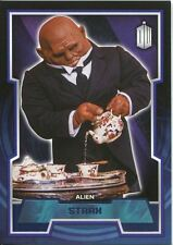 Doctor Who 2015 Purple Parallel [99] Base Card #105 Strax
