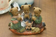 """Berry Hill bears """"For where two or three are gathered"""" 1997 figurine"""