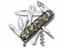 1.3703.94 VICTORINOX SWISS ARMY CLIMBER Camouflage POCKET KNIFE 14 Tools 35641