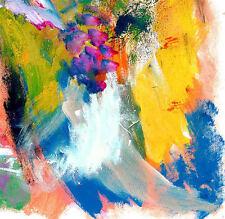 CONTEMPORARY WALL Decor,Abstract Painting,Acrylic Canvas,modern ArtWEDDING FEAST
