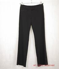P361/43 Karen Millen Black Woolen Tailored Trousers for Tall, UK 10 Euro 38