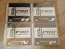 DVD PRO KARAOKE lot de 4