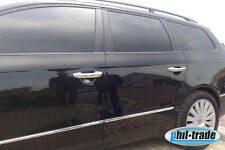VW Passat 3C B6 B7 CC edle Chrom Türgriffe Blenden aus EDELSTAHL BJ 2005-2014