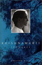 Krishnamurti : 100 Years by Evelyne Blau (1995, Hardcover) 1st / 1st