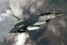 F-16A Falcon aircraft from the Royal Netherlands Air Force AF 8X12 PHOTOGRAPH