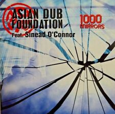 ASIAN DUB FOUNDATION (ft. SINEAD O'CONNOR) : 1000 MIRRORS - [ PROMO CD SINGLE ]