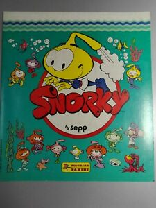 ALBUM SNORKY FIGURINE PANINI 1985 STICKER CARTOON TV ANNI 80