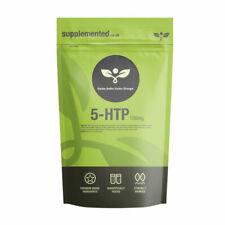 5HTP 100mg 180 High Strength Griffonia Tablets - Vegan Serotonin, Sleep, Stress