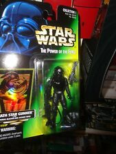 STAR WARS POWER OF THE FORCE DEATH STAR GUNNER, NEVER OPENED