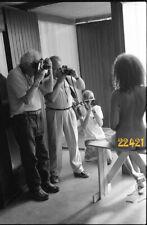 nude girl w photographers, 1970s vintage fine art negative!