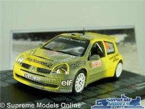 RENAULT CLIO S1600 MODEL CAR 2004 RALLY MONTE CARLO BERNARDI 1:43 SCALE IXO K8