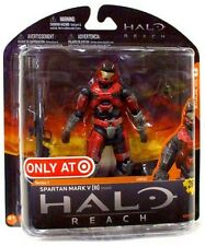 """Target exclusive Halo Reach Series 1 """"Brick/Steel Mark V [B]"""" Action Figure MINT"""