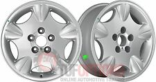 NEW Ford EL Tickford XR Concord 16x7 SILVER Rims TRAILER PAIR (2) 5-114.3